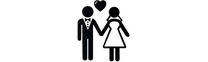 Bride&GroomSillhouette