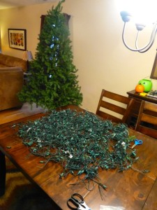 700 Christmas Lights Chopped Up