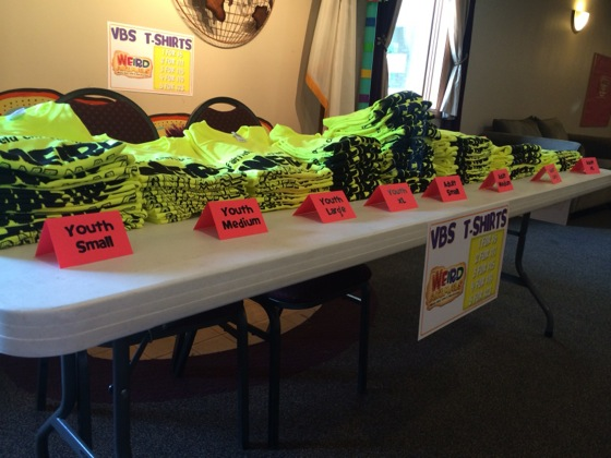 The t-shirts were a huge hit this year, and we sold every single shirt by the 2nd day.