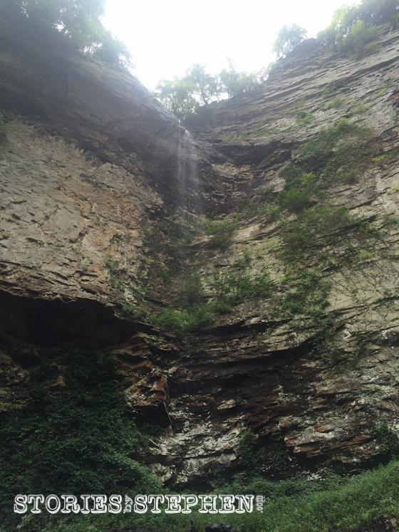 Coon Creek Falls is a slightly shorter 250-foot waterfall next to Fall Creek Falls.