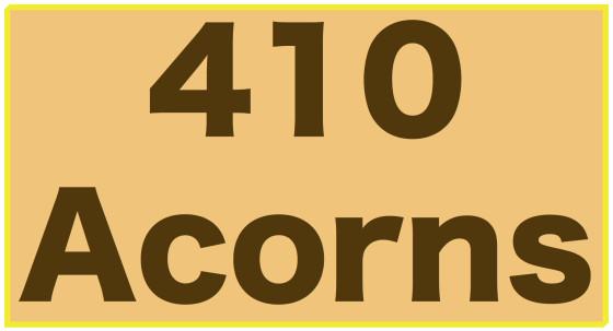 410 Acorns