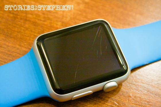 Apple Watch Sport Scratched (StoriesByStephen.com)-11