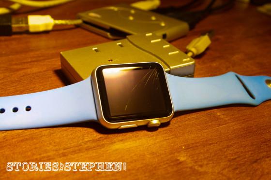 Apple Watch Sport Scratched (StoriesByStephen.com)-12