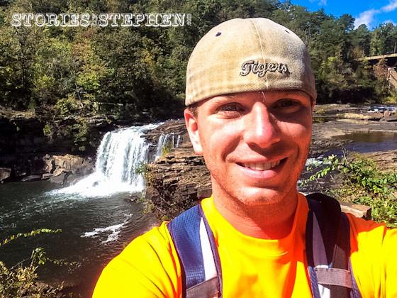 Me at Little River Falls.