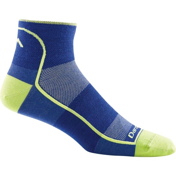 Darn Tough Vermont Men's 1/4 Merino Wool Ultra-Light Athletic Socks are great for winter running, and they are guaranteed for life