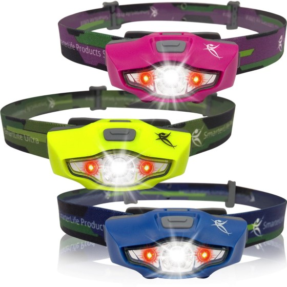There are several colors available with the SmartLite Ultra LED Headlamp.