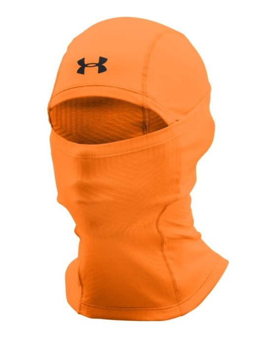 The Under Armour Men's ColdGear Infrared Tactical Hood is a balaclava that warms the neck, ears, nose, mouth and face while running.