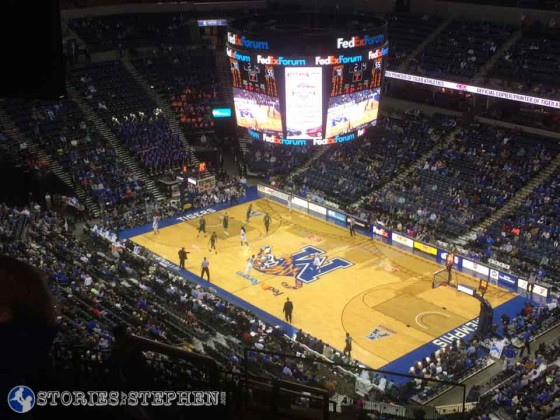 Memphis Tigers basketball.