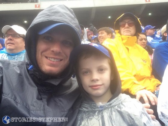 We survived the rain and the poor performance by the Memphis Tigers and still had a good time at the Birmingham Bowl.
