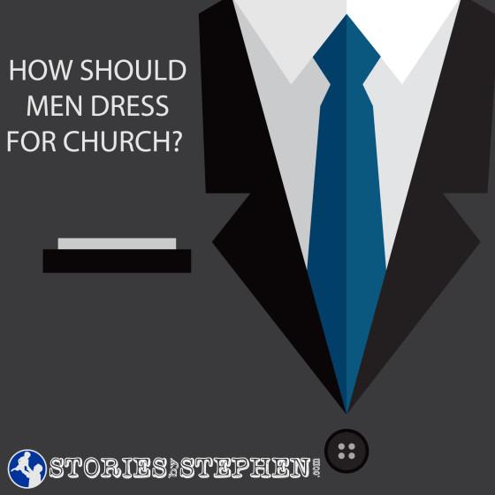 How-should-men-dress-for-church