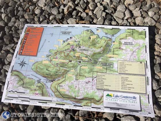 My 1st Trail Run - Lake Guntersville State Park
