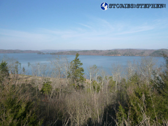 Nice view of Lake Guntersville as I was driving around trying to figure out where to start the Seales Trail.