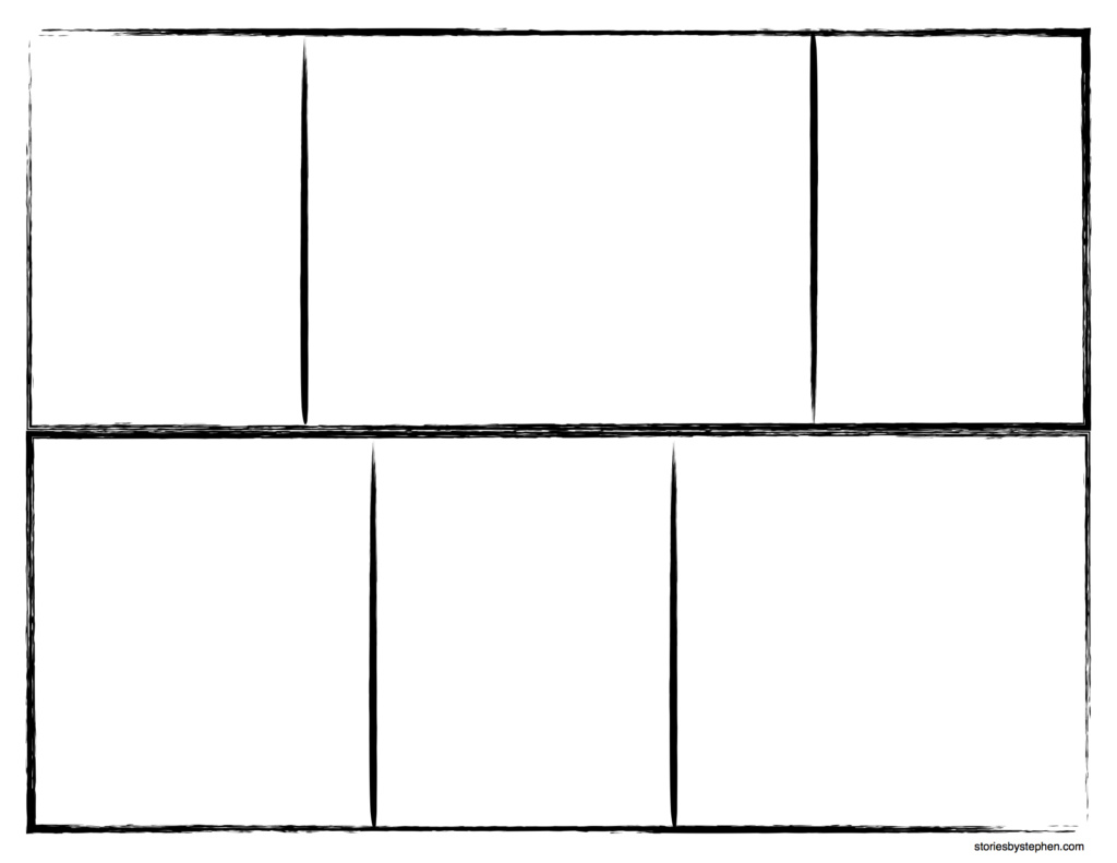 4 part comic strip template  Things Missionaries Do Comic Strips for Royal Ambassadors (RAs)