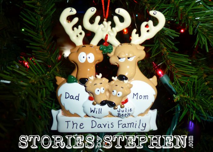 The Davis family grew from 3 to 4 in 2010.