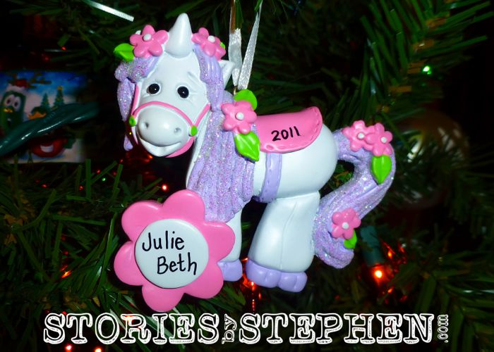 Julie Beth celebrated her 1st birthday in 2011.