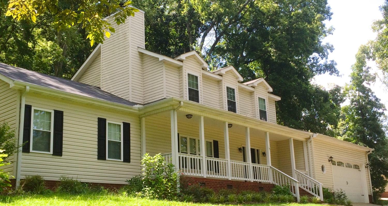 Our new home in Guntersville, AL.