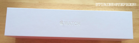 As always, this Apple product arrived in a pretty little white box.