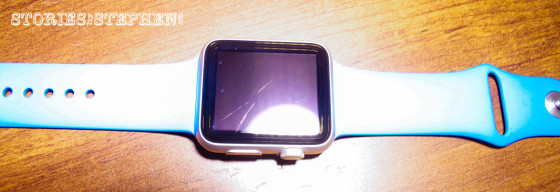 Apple Watch Sport Scratched (StoriesByStephen.com)-1
