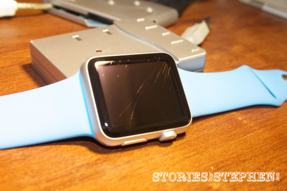 Apple Watch Sport Scratched (StoriesByStephen.com)-16