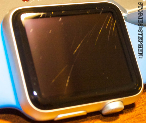 Apple Watch Sport Scratched (StoriesByStephen.com)-17