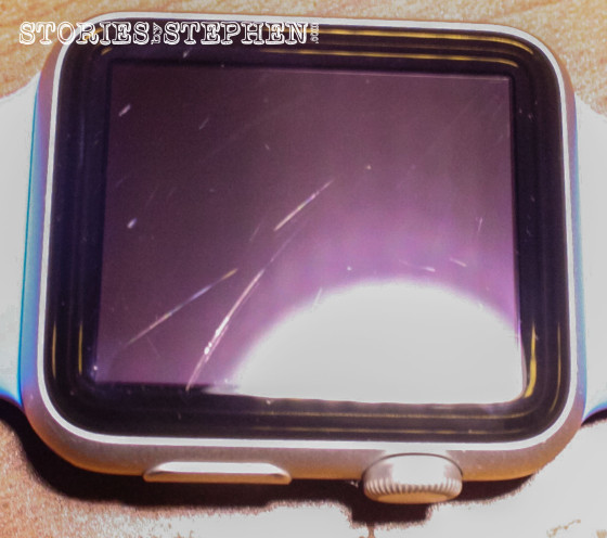 Apple Watch Sport Scratched (StoriesByStephen.com)-2