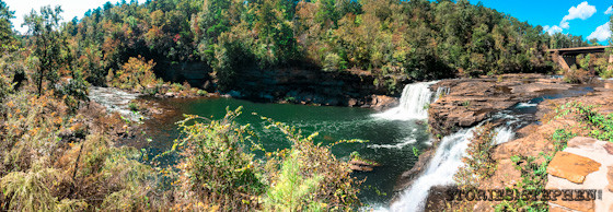 Another view of Little River Falls.