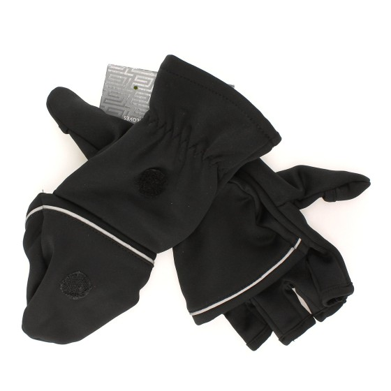 I have these Tek Gear Running Gloves/ Flip-Top Mittens, and they are perfect for winter runs.