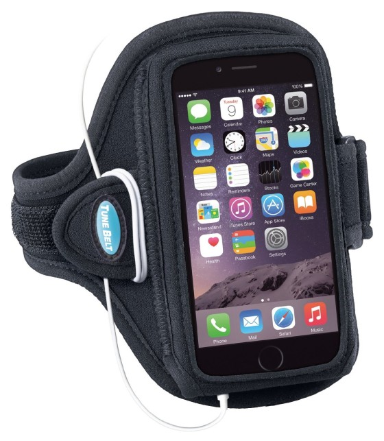 Every runner who carries his or her phone needs a good arm band to hold it. I have had a few from Tune Belt, and they always hold up well.