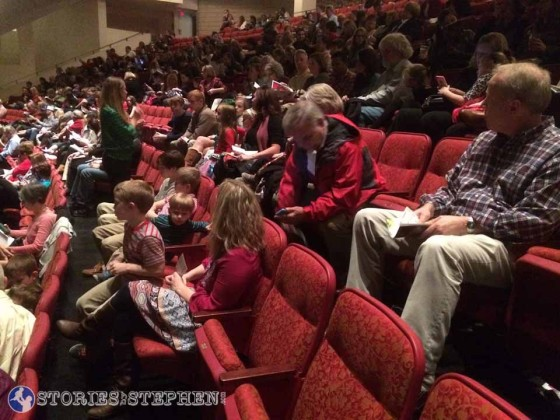 We had a lot of seats at the TPAC for the Nashville Nutcracker. It was sold out.