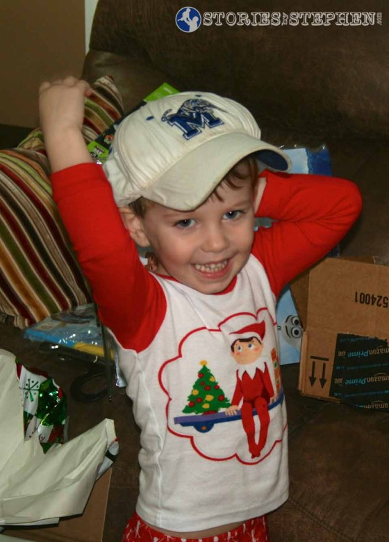 Sam can wear his Memphis Tigers hat for the rest of his life.