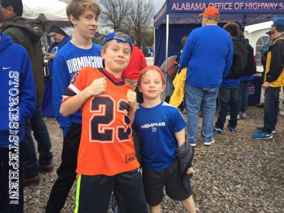 Will's Aunt Lauren and his cousins tried to convert him to an Auburn fan.