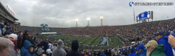 Legion Field during the Birmingham Bowl