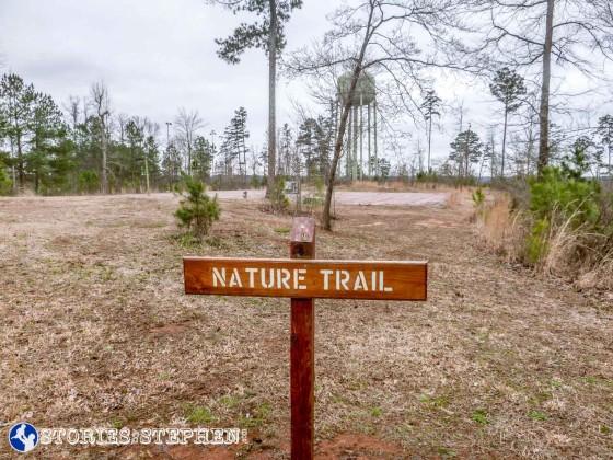 Generic trail marker.