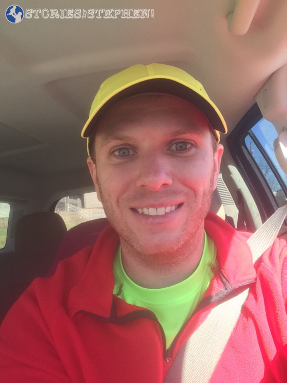 Headed to Lake Guntersville State Park for my 1st trail run.