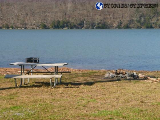 Seals & Lickskillet Trail Run Lake Guntersville State Park-4-2