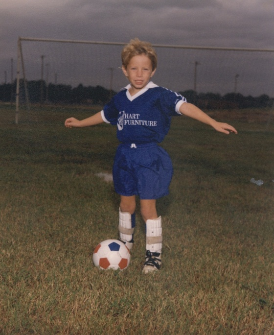 I knew when I was 5 years old that I loved soccer more than any other sport.